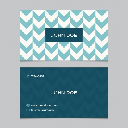 business card design: Business card template, background pattern vector design editable