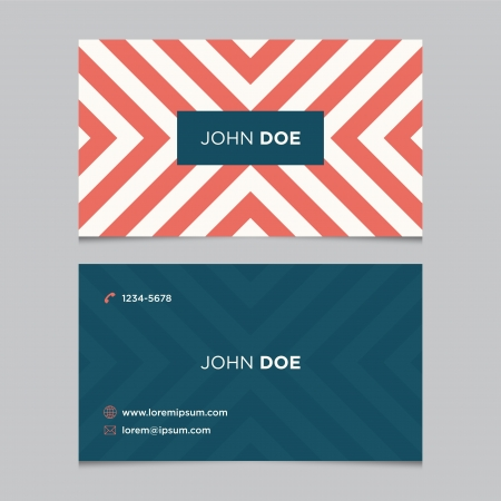 blank business card: Business card template, background pattern vector design editable