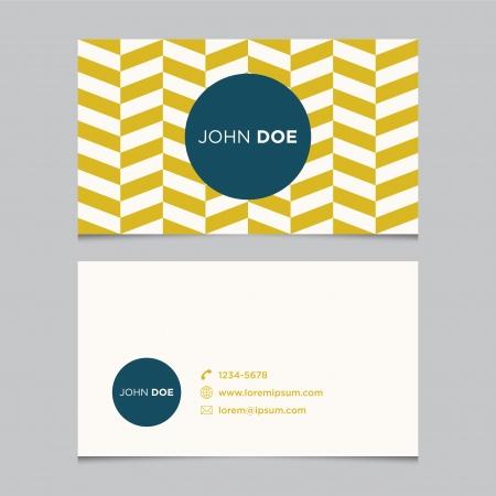 Plantilla de tarjeta de visita, diseño de fondo vector patrón editable Foto de archivo - 24506401