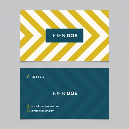 business: Business card template, background pattern vector design editable