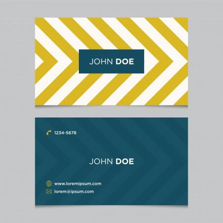 visitekaartje: Visitekaartje sjabloon, achtergrond patroon vector editable Stock Illustratie
