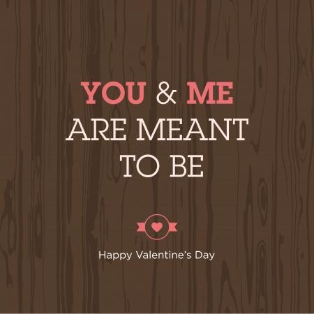 te amo: Dise�o de la expresi�n del amor de la tarjeta del d�a de San Valent�n del vector editable Vectores