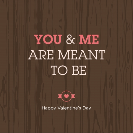 i label: Valentines day card  Love expression  Vector design editable
