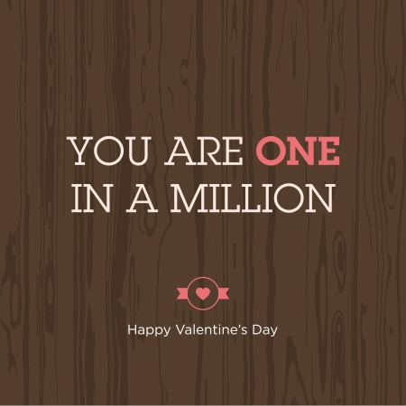 be mine: Valentines day card  Love expression  Vector design editable