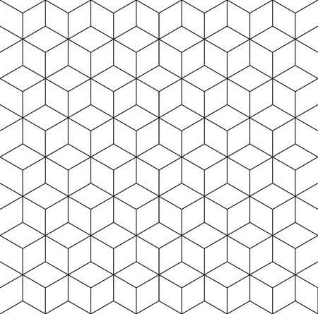Pattern cube background