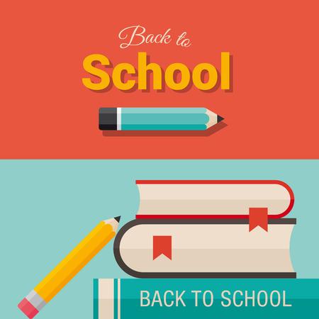 school teachers: Volver a la escuela, el dise�o de los elementos Vectores