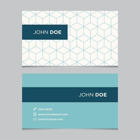 бизнес: Шаблон Визитная карточка с фоновым рисунком