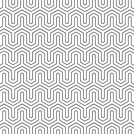 hexagone: Pattern vector background white and black  02 Illustration
