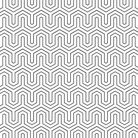 hexagone: Pattern vector background white and black  02 Illustration