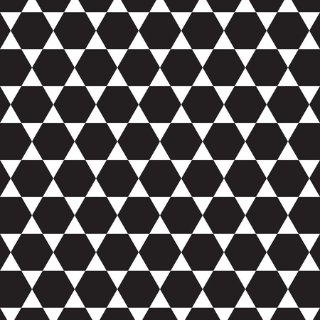 hexagone: Pattern vector background white and black  06