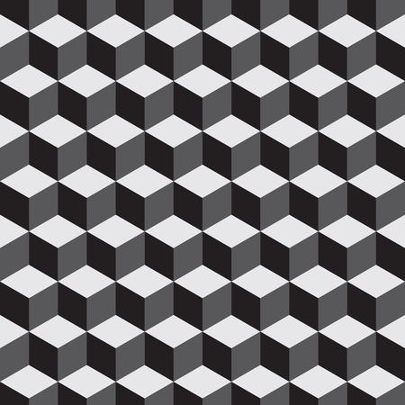 hexagone: Pattern vector background white and black  09 Illustration