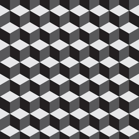 hexagone: Pattern vector background white and black  09 Illustration