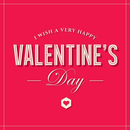 unusual valentine: Valentines day card Illustration