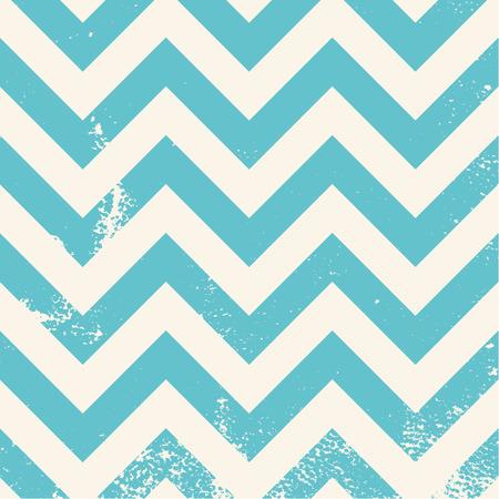 chevron: blue chevron pattern with distressed texture Illustration