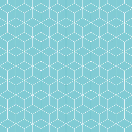 Cubes pattern background. Retro vector pattern.