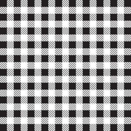 gingham: Gingham tablecloth pattern background black and white