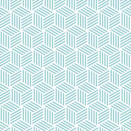 Cube light pattern background. Vector background blue green