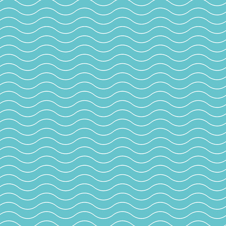 Wave pattern background.  Vector background blue green