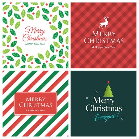 tarjeta de invitacion: Tarjetas de Navidad Vectores