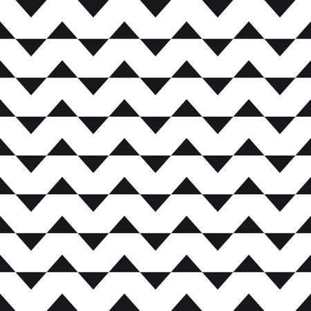 triangle pattern: Chevron triangle pattern background. Vintage retro vector design element.