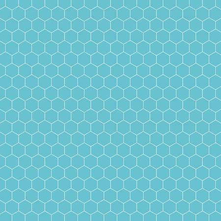 Hexagon pattern background. Vintage retro vector design element.