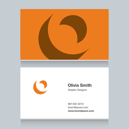Logo alphabet letter of O