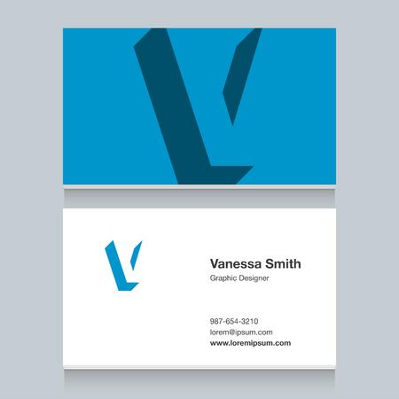 Icon of alphabet letter for cards - letter V