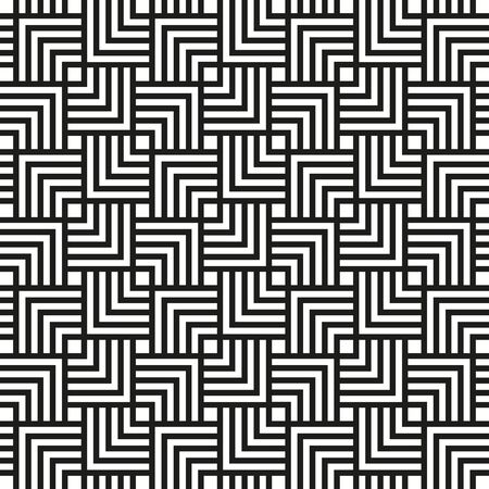 Small chevron square pattern background. Vintage retro vector design element. Illustration