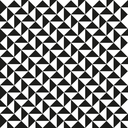 Triangle pattern background. Vintage retro vector design element.