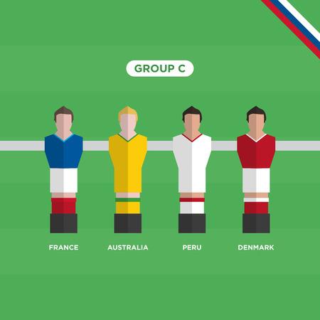 Football Table (Soccer) players