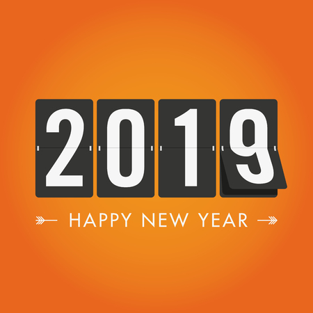Happy new year 2019 mechanical timetable.