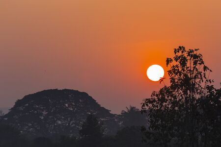 sun rises Stock Photo - 17595104