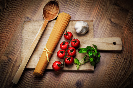 Italian Pasta Food Ingredients photo