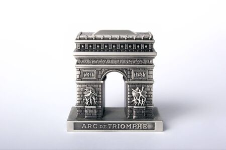 triumphal: silver triumphal arch Stock Photo