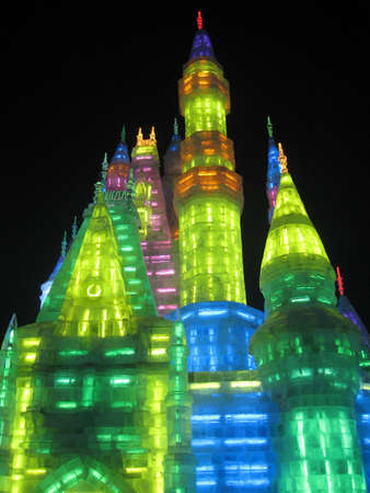 Ice Sculpture from Ice Festival in Harbin China