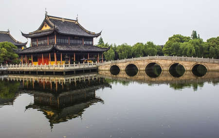 Quanfu Temple in Zhouzhuang, China Stock Photo - 14125257