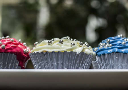 sweettooth: Red, White and Blue cupcakes