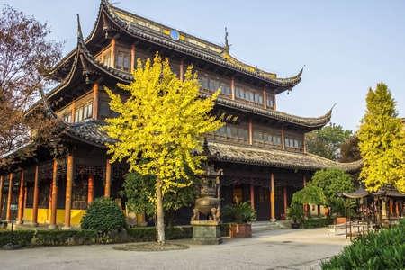 Quanfu Temple in Zhouzhuang China Stock Photo