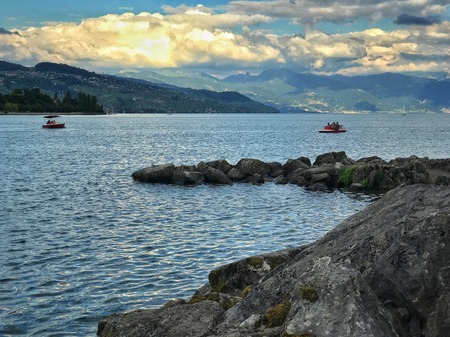 Afternoon on Leman Lake
