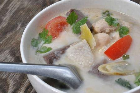 Tom Kha Kai Thai food
