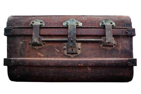iron casket Stock Photo