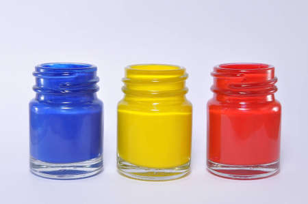 The three primary colors.