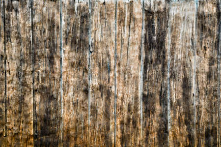 Cement wall emulate wood