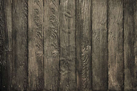wood wall on thai house photo