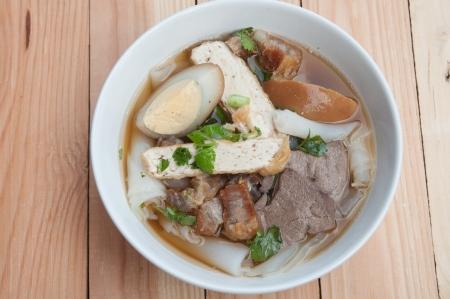 Paste of rice flour Noodle Thai food