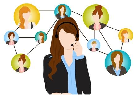 servicio al cliente: comunicaci�n social