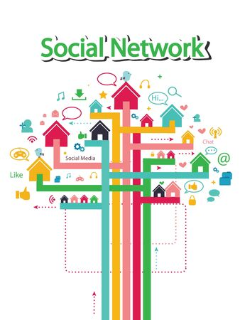 social media concept: social media concept