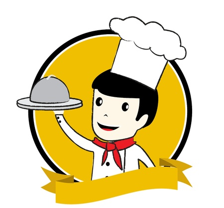 master chef: master chef logo Illustration