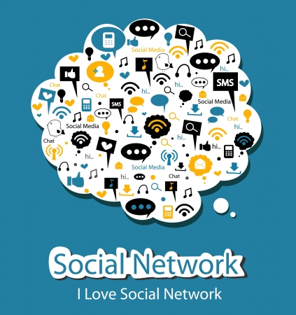 think bubble: social network