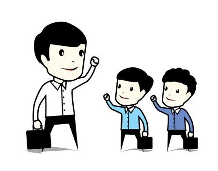 leadership concept Stock Vector - 16810311